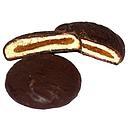 BISCUIT COEUR ORANGE/CHOCOLAT VRAC