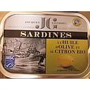 SARDINE CITRON A L'HUILE D'OLIVE