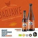BADJAWE AMBREE 75CL